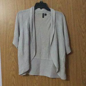 Short sweater shrug. 1x